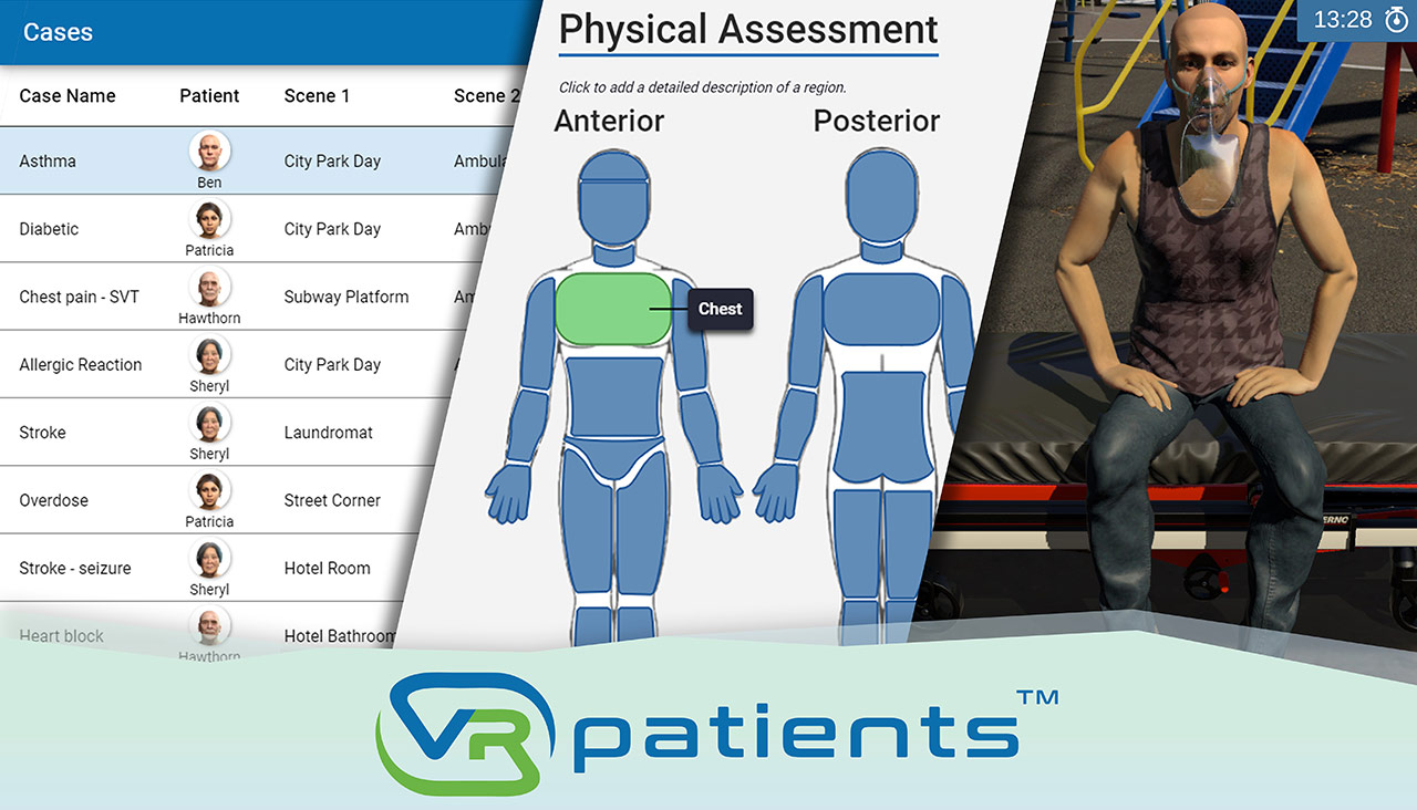 Case Authoring Tool by VRpatients